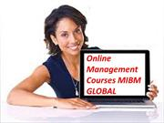 Online management courses the best degree accessible in the space