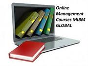 Online management courses to guarantee them best MIBM GLOBAL