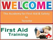 Excellent First Aid Training Red Cross And CPR Training From Experts
