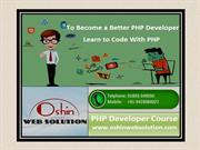 Benefit of PHP Training