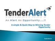 Get all Government Tender information easily