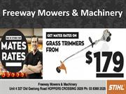 Mowers hoppers crossing for economical products