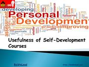 Usefulness of Self-Development Courses