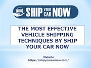 Ship Car Anywhere by Ship Your Car now