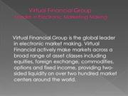 Virtual Financial Group-Leader In Electronic Market Making