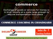 UGC NET Commerce Coaching In Chandigarh