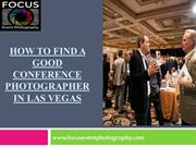Perfectionist Convention & Conference Photographer in Las Vegas