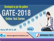 GATE Online Test Series For CH, ME, CE, IN, CS&IT, EE and ECE