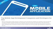 Top Mobile App Development Companies and Developers