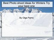 Learn Winter Landscape photography With Olga Parno