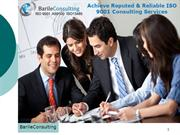 Achieve Reputed & Reliable ISO 9001 Consulting Services