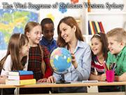 The Vital Programs of Childcare Western Sydney