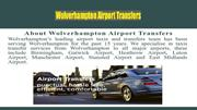 Airport Taxi Transfer from Wolverhampton to East Midlands Airport