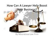 How Can A Lawyer Help Boost Your Business?