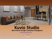 Kuvio Studio Best Interior Design Company in Bangalore