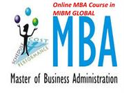 Online MBA Course in MIBM GLOBAL