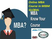 Online MBA Course in which is getting popular day by day