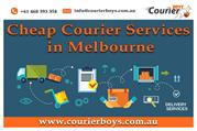 Cheap Courier Services in Melbourne