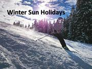 Get Winter Sun Holiday Deals