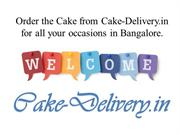 Are you upset to order a cake in the midnight of the Bangalore?