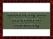 Geofencing and Its Effect in Marketing
