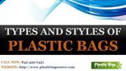 Different Types And Styles of Plastic Bags – Plastic Bag Source