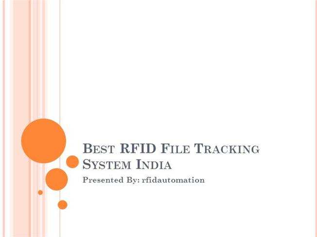 Top RFID Tag Reader Services in India With RFID Automation |authorSTREAM