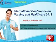 Nursing Conferences 2018