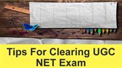 Tips For Clearing UGC NET Exam