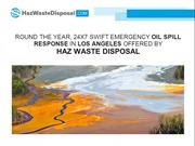 Round The Year, 24X7 Swift Emergency Oil Spill Response In Los Angeles