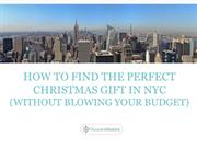 Occasion Station's Christmas Gift Ideas in NYC