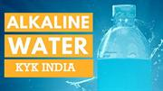 Best Alkaline Water Ionizer|Ionized Alkaline Water-KYK India
