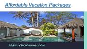 Affordable Vacation Packages