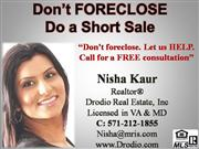 Stop Foreclosure do a Short Sale