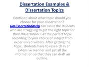 Ads for a dissertation consultant