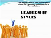 styles of leadership