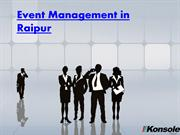 Event management in Raipur - PDF