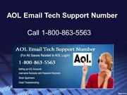 AOL Email Tech Support Number