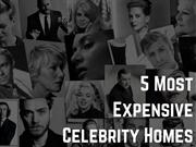 5 Most Expensive Celebrity Homes | NewtonInEx