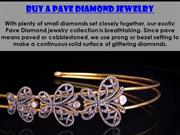 Excellent Pave Diamond Jewelry Supplier | Gemco Designs