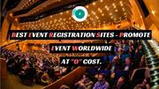 Best Event Registration Sites - Promote Event Worldwide At