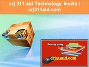crj 311 aid Technology levels  crj311aid.com