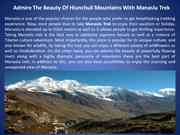 Admire The Beauty Of Hiunchuli Mountains With Manaslu Trek