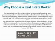 Why Choose a Real Estate Broker
