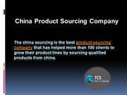 China Product Sourcing Company