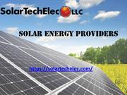 Solar energy providers - Solar Tech Elec LLC