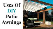 Are you deploying the DIY patio Awnings properly?