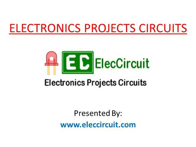 Electronics Projects With Circuit Diagram | Basic Electronics Circuit Diagram Authorstream