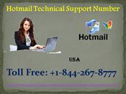 Hotmail Support Number +1-844-267-8777 Toll Free Number USA