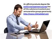 Online management courses in MIBM GLOBAL